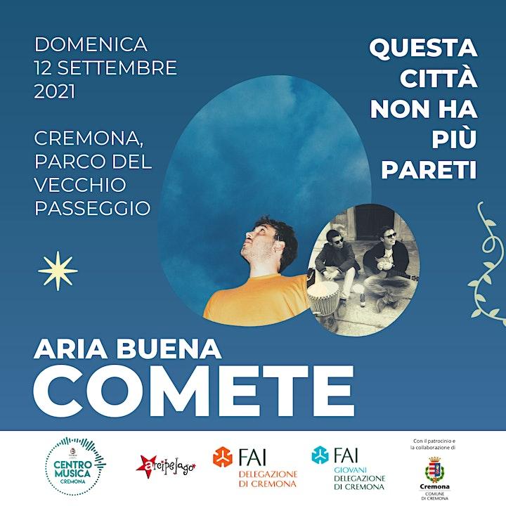 Immagine Aria Buena + COMETE  • Cremona, domenica 12 settembre