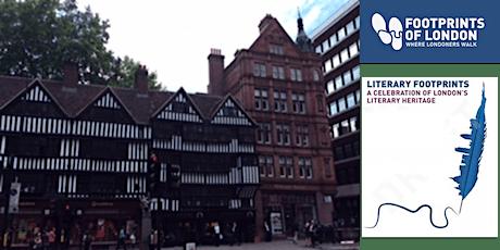 WALKING TOUR - Shardlakes London tickets