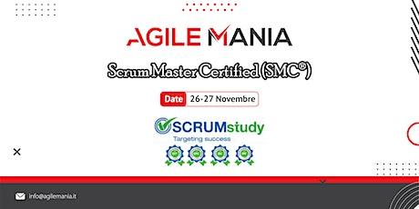 SCRUM MASTER CERTIFIED (SMC®) |26-27 NOV| CASTELLO DI GODEGO biglietti