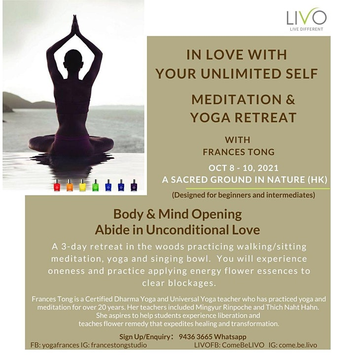 In Love with your Unlimited Self - Meditation & Yoga Retreat image