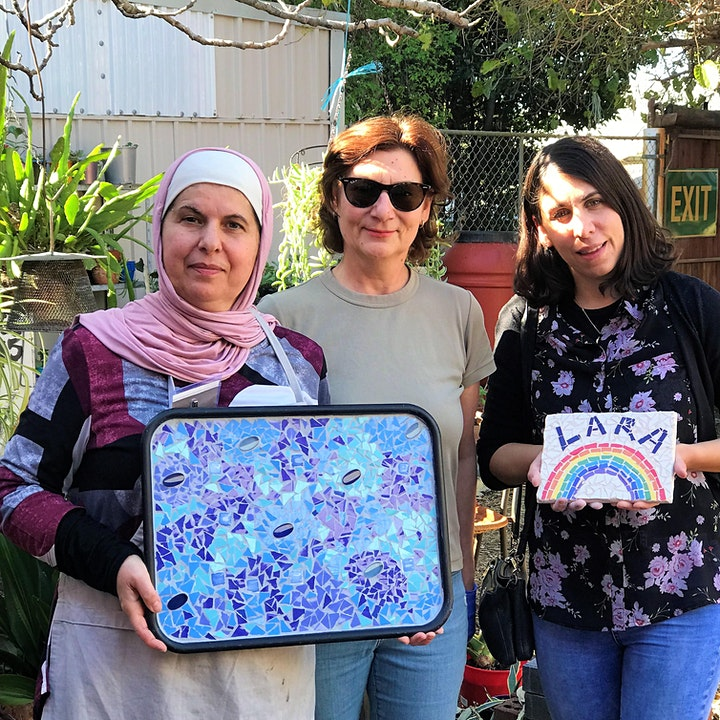 Mosaic class for Beginners. Vic Park Centre for the Arts image