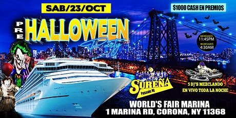 Fiesta En Barco / Pre - Halloween Party tickets