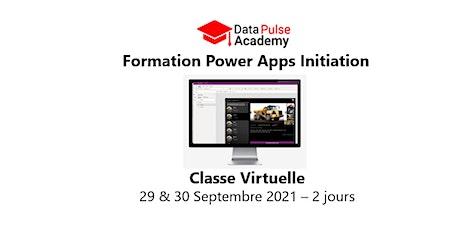 Power Apps Initiation - 2 jours - 29 & 30 Septembre 2021 billets