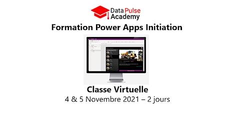 Power Apps Initiation - 2 jours - 4 & 5 Novembre 2021 billets