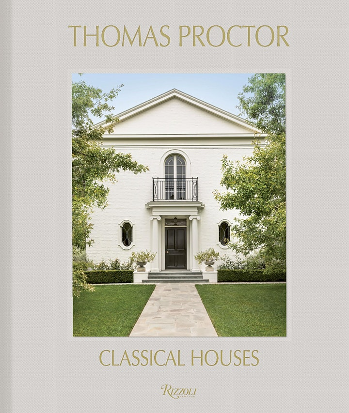 Thomas Proctor: Classical Houses book launch image