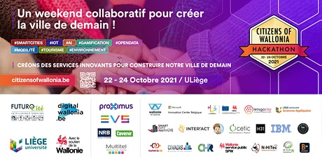 Hackathon Citizens of Wallonia 2021 tickets