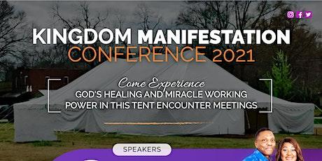 Kingdom Manifestations Conference 2021 tickets