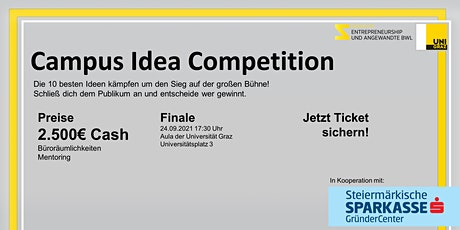 Campus Idea Competition Tickets