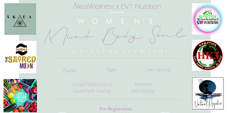 Women's Mind Body&Soul Workshop/Seminar tickets