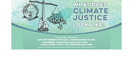 What does climate justice look like? tickets