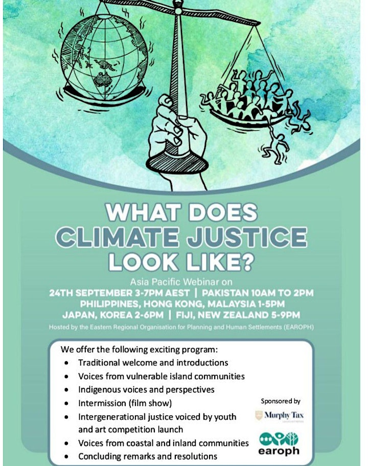 What does climate justice look like? image