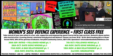 Women's Self Defence Experience tickets