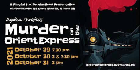 "PFP presents: ""Agatha Christie's Murder on the Orient Express"" tickets"