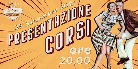 Presentazione Corsi 2021-22 biglietti