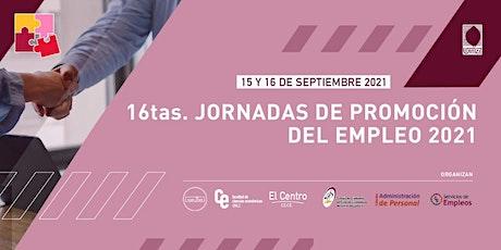 16tas. Jornadas de Promoción del Empleo 2021 entradas