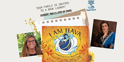 I AM HAVA by Freda Lewkowicz,  illustrated by Siona Benjamin – Book Launch
