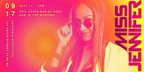 Heat Collective & Ricky Suave Talent Management presents: MISS JENNIFER tickets