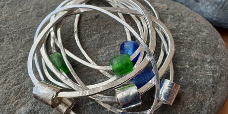 Make your own eco-silver stacker rings or bangle tickets