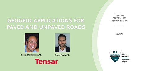 GEOGRID APPLICATIONS FOR PAVED AND UNPAVED ROADS BY TENSAR tickets