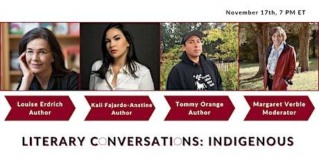 Literary Conversations: Indigenous tickets
