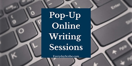 Pop-up Online Writing Session tickets