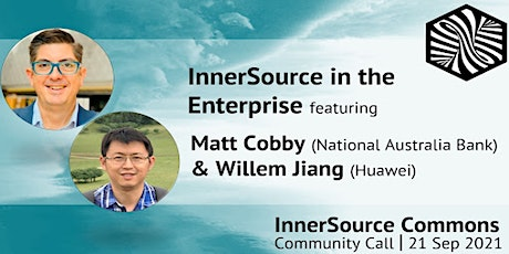 InnerSource Community Call - InnerSource in the Enterprise tickets