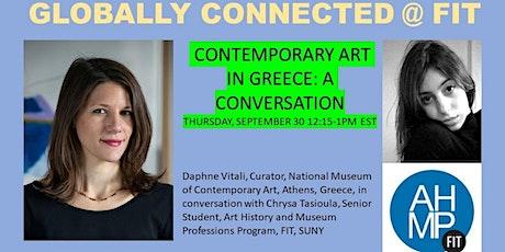 Contemporary Art in Greece: A Conversation tickets