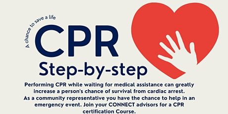 COnnect CPR Certification Course tickets