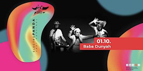 Baba Dunyah (Chupa/Berlin) | electroPANDA # 4 Tickets