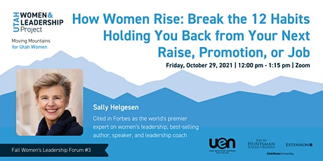 How Women Rise: Break the 12 Habits Holding You Back tickets