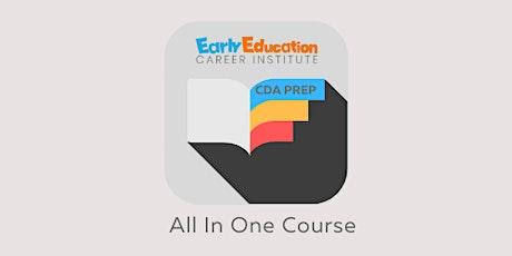 Child Development Associate (CDA) Credential Course tickets
