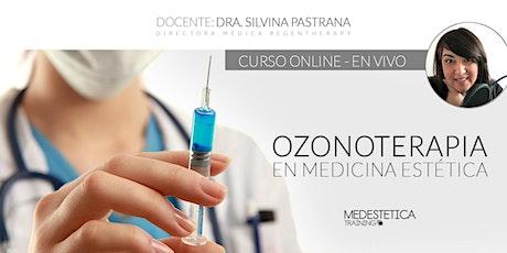 Curso de Ozonoterapia en Medicina Estética entradas