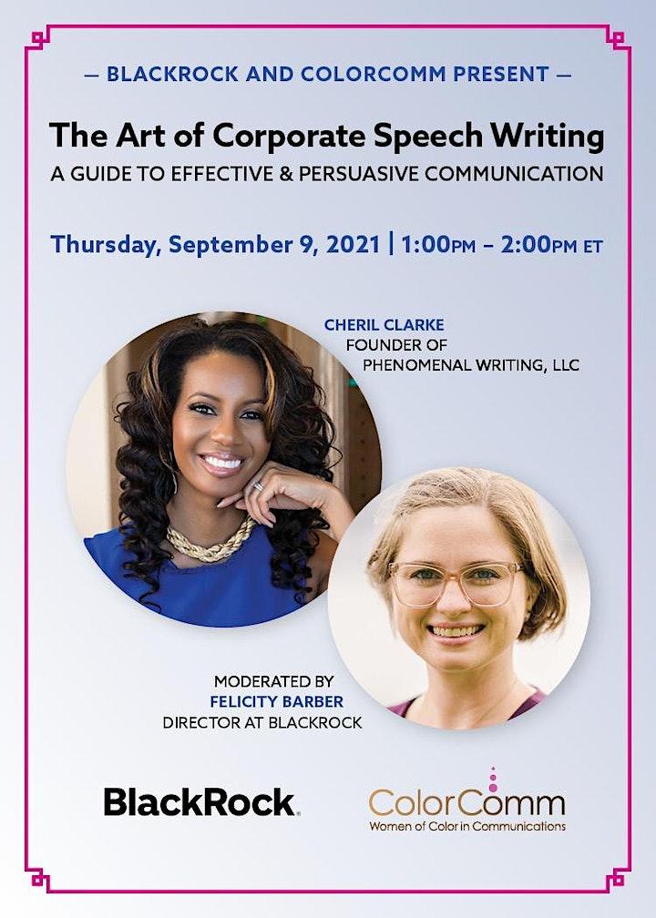 BlackRock Presents: The Art of Corporate Speech Writing image