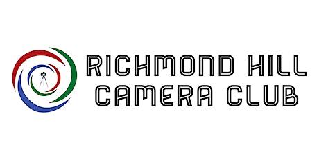 Richmond Hill Camera Club meeting tickets