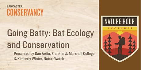 Nature Hour: Going Batty - Bat Ecology and Conservation tickets