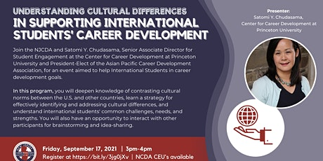 Supporting International Students' Career Development tickets