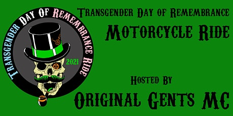 Transgender Day of Remembrance Motorcycle Ride tickets