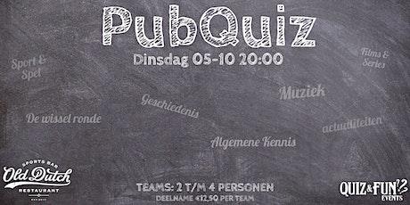 PubQuiz oktober | Breda tickets