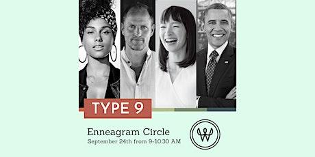 Enneagram 9 Circle tickets