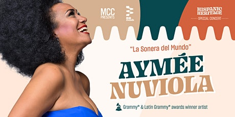 MCC Presents: Hispanic Heritage Special Concert with AYMÉE NUVIOLA tickets
