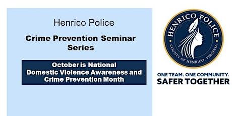 Crime Prevention Seminar Series: Civilian Response to Active Shooter tickets