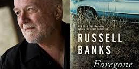 Pop-Up Book Group with Russell Banks: FOREGONE (Online Only) tickets