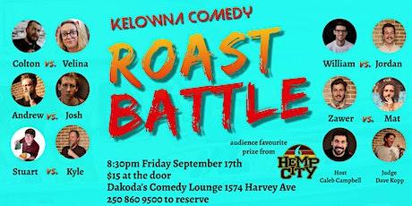 Kelowna Comedy Roast Battle tickets