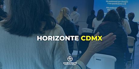 Reunión presencial Horizonte CDMX 5:00 PM boletos