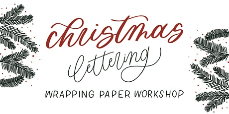 Christmas Calligraphy | Wrapping Paper Workshop tickets