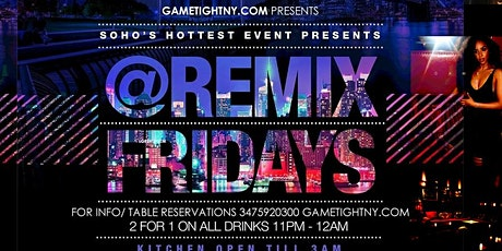 Katra Lounge Hip Hop vs Reggae® NYC Remix Fridays tickets