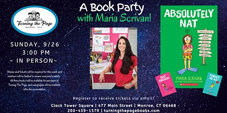 A Book Party with Maria Scrivan! tickets