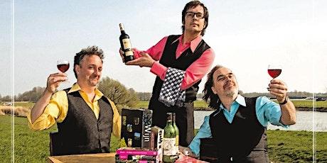 WIJNCABARET - De Aimabele Schoften - incl. wijnproeverij ! tickets