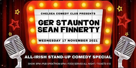 All-Irish Stand-up comedy night Tickets