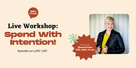 Spend with Intention Workshop tickets